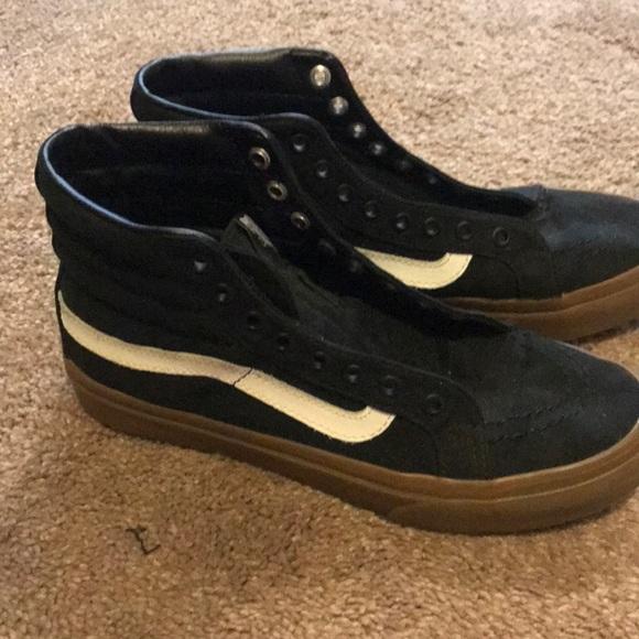 Vans Shoes   Black Old School High Top